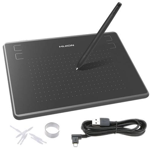 """Графический планшет с пассивным пером HUION H430P 4.8x3"""" для Osu!"""