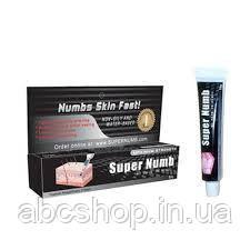 SUPER NUMB чёрный — крем-анестетик 10 г