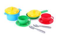 Пластмассовая детская Посудка 03256