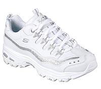 Женские кроссовки в стиле Кроссовки Skechers D'Lites 2 White