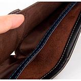 Мужской кошелек Baellerry Fuerdanni коричневый, фото 3