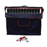 Раскладная солнечная панель 100 Вт ( 2 х 50 Вт ) с опорой и контроллером, фото 5