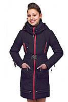 Модная подростковая курточка с капюшоном