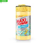MAXI POWER Засіб д/миття посуду 1л Банан