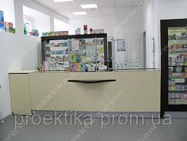 Мебель для аптек под ключ