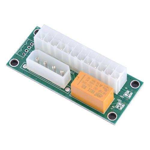 Синхронизатор для подключения запуска 2 блоков питания IDE+ATX ADD2PSU