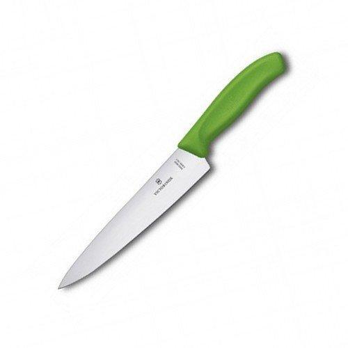 Ніж кухонний Victorinox SwissClassic Carving обробний  19 см зелений (Vx68006.19L4B)