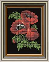 Схема для вышивки бисером Маков цвет. Арт. СД-005