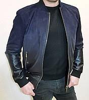 Куртка кожаная мужская Maddox  с эффектом деграде