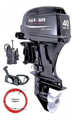 Човновий двигун Parsun T40FWS-T, фото 2