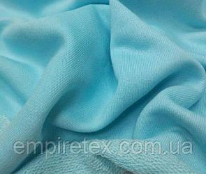 Трехнитка без начеса (петля) Голубая