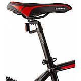 """Велосипед CAMARO Blaze 27.5"""" чорно-червоний Рама 17"""" 19"""" 2020р, фото 4"""