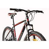 """Велосипед CAMARO Blaze 27.5"""" чорно-червоний Рама 17"""" 19"""" 2020р, фото 8"""