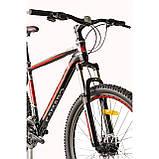 """Велосипед CAMARO Blaze 27.5"""" чорно-червоний Рама 17"""" 19"""" 2020р, фото 5"""