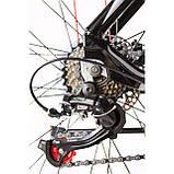 """Велосипед CAMARO Blaze 27.5"""" чорно-червоний Рама 17"""" 19"""" 2020р, фото 6"""