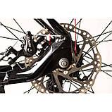 """Велосипед CAMARO Blaze 27.5"""" чорно-червоний Рама 17"""" 19"""" 2020р, фото 9"""