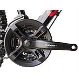 """Велосипед CAMARO Blaze 27.5"""" чорно-червоний Рама 17"""" 19"""" 2020р, фото 10"""