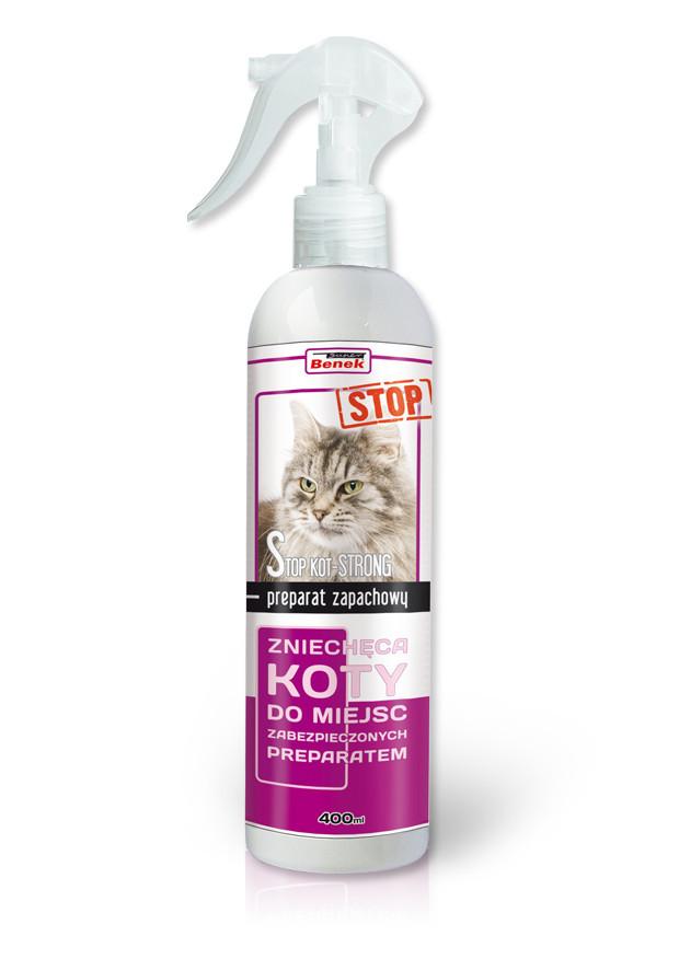 Спрей  для отпугивания кошек Benek