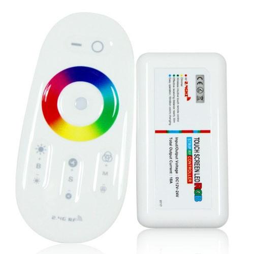 Беспроводной контроллер 2.4ГГц RGBW LED лент 12-24