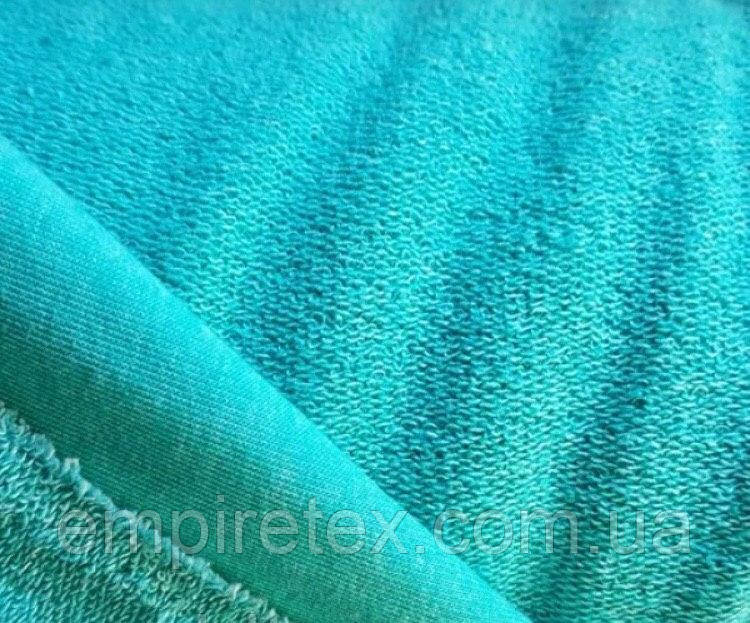 Трехнитка без начісування (петля) Блакитна Бірюза