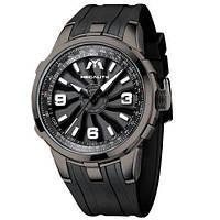 Часы механические с автоподзаводом водонепроницаемые Megalith 8201M Black-Gray