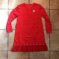 Сукня червона святкова