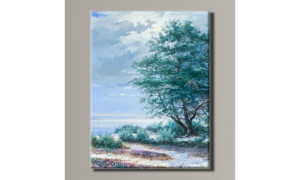 Картина на холсте Пейзаж у моря для интерьера
