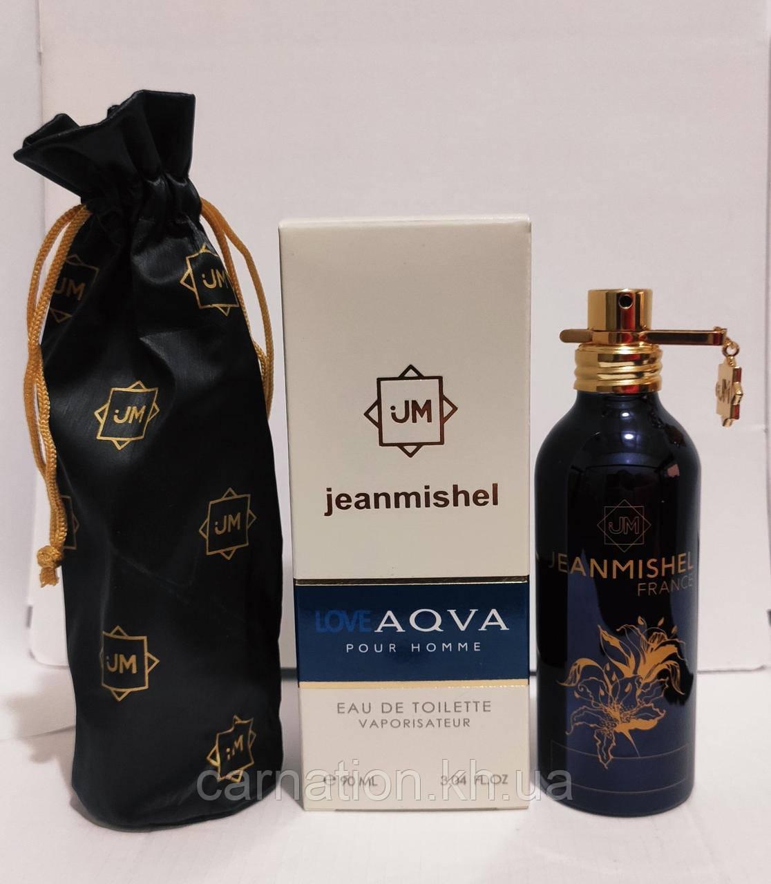 Мужская туалетная вода Jeanmishel Love Aqva Pour Homme 90 мл
