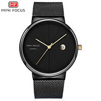 Часы мужские кварцевые Mini Focus MF0176G.03 All Black AB-1095-0082