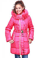 Детская зимняя  удлиненная  куртка