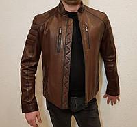 Куртка мужская кожаная Maddox