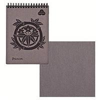 """Альбом / Cкетчбук для пастели """"Premium Аshes""""  А4, 30 листов коричневого цвета."""