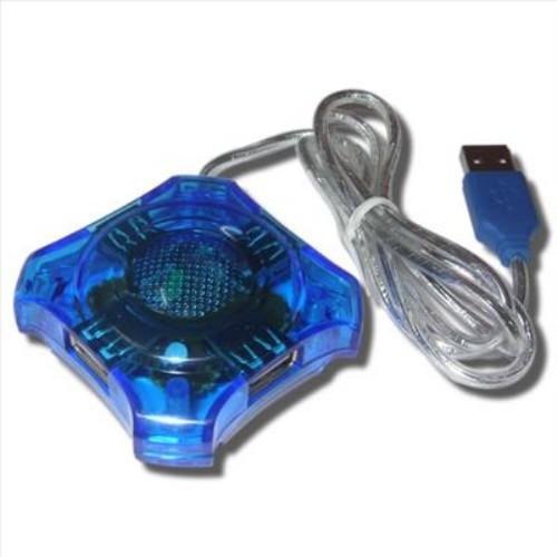 4-портовый USB 1.1 хаб hub разветвитель