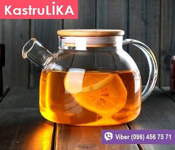 Стеклянный чайник для заварки Стокгольм 600мл