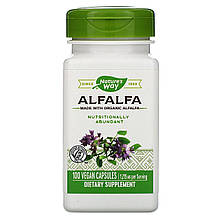 """Люцерна Nature's Way """"Alfalfa"""" 1215 мг (100 капсул)"""