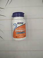 Omega-3 Now Foods 30 caps. омега