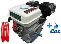 Бензо-газовый двигатель Iron Angel FAVORITE 200-1M LPG