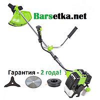 Бензокоса Белорус БГ-5900 (гарантия 2 года, 2 ножа, победитовый диск, катушка с леской, 2х тактный двигатель)
