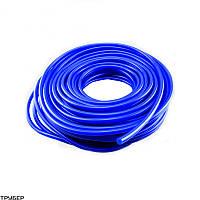 Трубка ф14,0х1,5мм 20м (ПВХ-Т) Синий силикон для полива