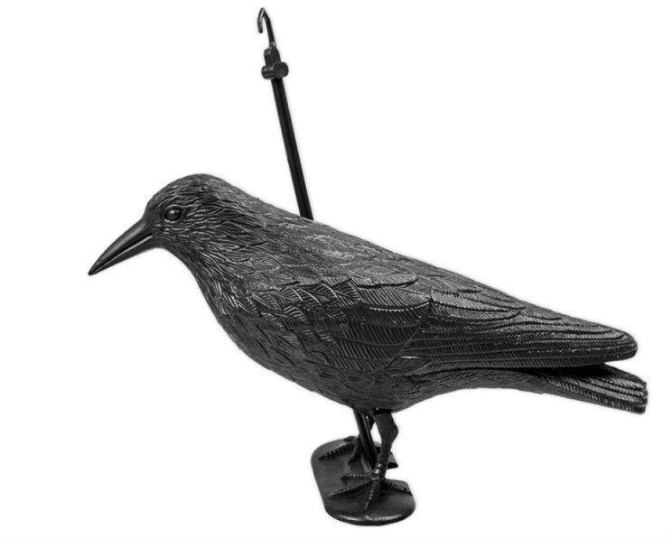 Макет ворона для отпугивания птиц