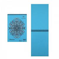 """Скетчбук / блокнот для пастели """"Premium Cloudy sky""""  А5, 30 листов небесно-голубого цвета."""