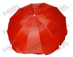 Зонт садовый 2 метра 8 спиц (Красный)