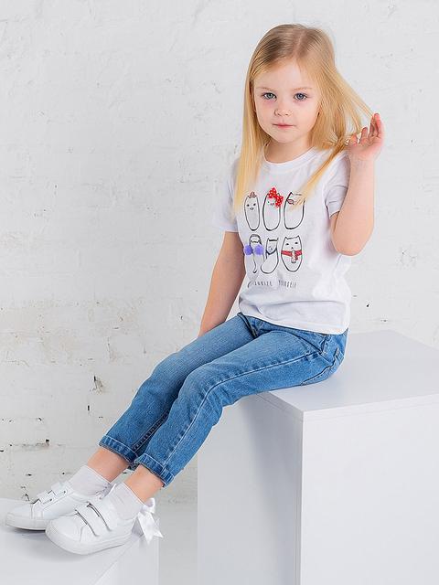 Дитячі футболки для дівчаток