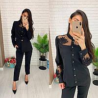Блуза из ткани шелк Армани