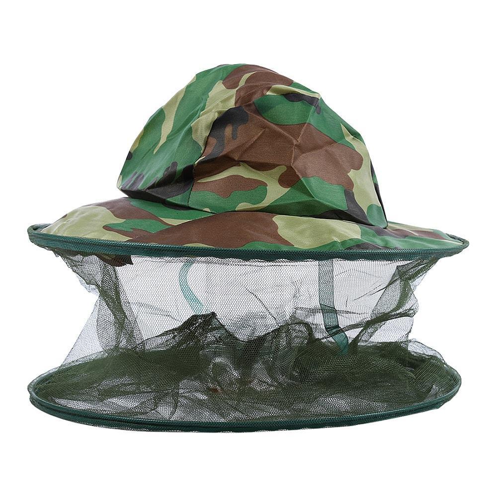 Шляпа с антимоскитной сеткой