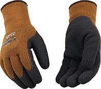 Теплые прорезиненные рабочие перчатки Kinco 1787 размер XL