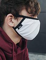 Многоразовая маска Staff white