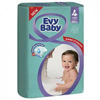 Evy Baby підгузники дитячі Elastic 4 (7-18кг) 64шт Maxi