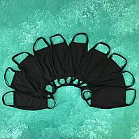 Набор защитных масок City-A Бафф K-Pop 10 шт Черный (city28.2)