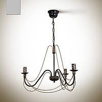 Люстра 3-х ламповая, в классическом стиле, для спальни, небольшой комнаты 1203-1